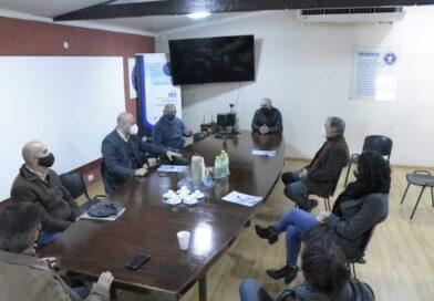 Martín Ascúa y el Jefe de Vialidad Nacional analizaron obras de mejoras para el acceso de la ciudad y el puente junto a despachantes de aduana