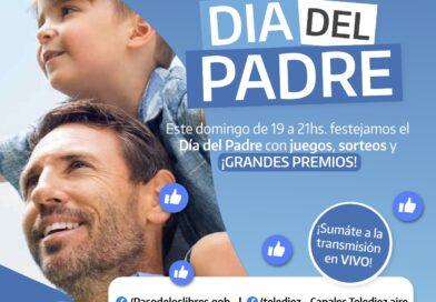 Este Día del Padre la Comuna de Libres ofrecerá evento virtual con espectáculo y muchos premios