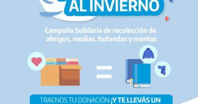 Campaña Solidaria: la Comuna de Libres entrega libros a cambio de donaciones de abrigos para familias vulnerables