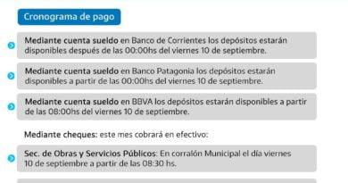 La gestión de Tincho Ascúa paga plus salarial de septiembre a trabajadores comunales